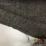 100% poliéster imitación de la tela de lino con algodón Bond Parte trasera de Sofá