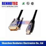 HDMI DVI 암 커넥터 전기 연결관