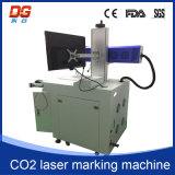 Máquina caliente del CNC de la marca del laser del CO2 del estilo 10W para el vidrio