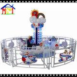 2018人の子供のヘリコプターの遊園地の乗車の屋内運動場装置