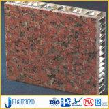 Panneau en aluminium en pierre de nid d'abeilles d'OEM Foshan