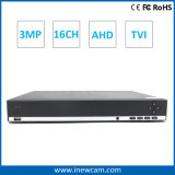 Seguridad caliente DVR del CCTV de 16CH 3MP/2MP