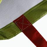 Напечатанный таможней мешок ткани логоса Non сплетенный с ручкой