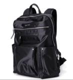 Saco preto de ombro homens saco do computador do saco de viagem homens Backpack Trend Oxford saco tecido impermeável Fashion