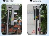 Portátil Mini 125mm de luz de la señal de tráfico peatonal de la energía solar