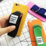 Caixa dura do telefone móvel do PC da faixa de pulso da mão para iPhone8/8plus/7/7plus/6s/6plus