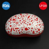 Funny Bean-Shaped Tin Box / Candy Box / Sweet Tin for Festival Gift (B001-V17)