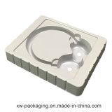 Китай белый лоток в блистерной упаковке для гарнитуры пластиковой упаковки