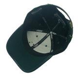 Wholesale alle, die mit Metallfirmenzeichen-Baseballmütze schwarz sind