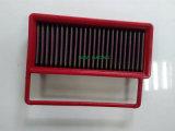 Filtro de ar do carro vermelho Perormance Filtro de painel para sistema de admissão de ar