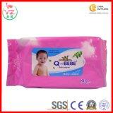 중국 제조자 좋은 가격 고품질 연약한 아기는 젖은 닦음을 닦는다