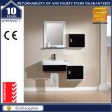 Stanza da bagno nera personalizzata di qualità superiore dell'unità di vanità della vernice del MDF