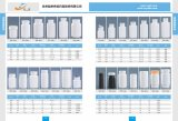 Bottiglia di plastica quadrata dell'HDPE per l'imballaggio della medicina di sanità