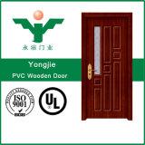 Porte intérieure de PVC des prix bon marché chauds de vente