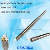 Het Hulpmiddel van de Autoclaaf van de Houder van de Pen van Phibrows Microblading van het roestvrij staal