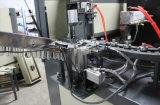 プラスチック缶を作るフルオートマチックの2つのキャビティびんの吹く機械