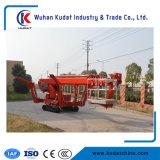 36m Type de véhicule à chenilles de relevage de rampe d'araignée