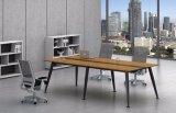 Ht80-3の黒によってカスタマイズされる金属の鋼鉄オフィスの会議の机フレーム
