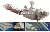 Perfis plásticos do Trunking do cabo do PVC que fazem máquinas