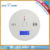Smart Home Security Koolmonoxide Detector LCD-batterij back-up