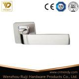 Wenzhou puxador de porta em porta de madeira de alumínio Fornecedor Alavanca no Rose