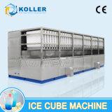 10 toneladas/dia a melhor utilização comercial de vendas populares máquina de cubos de gelo