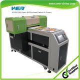 Stampante di getto di inchiostro a base piatta UV più bassa di prezzi A2 con inchiostro bianco