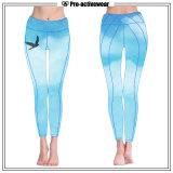 Heiße Verkauf Whoelsale gestreifte Muster-Eignung-Gamaschen-kundenspezifische Frauen-Yoga-Hosen 2016