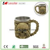 Tasses en crâne en acier inoxydable pour les cadeaux de collection et de promotion Souvenir