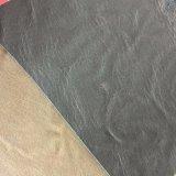 Cuoio brunito dell'unità di elaborazione di 1.0mm per i contrassegni Hw-1440 dei jeans dei pattini