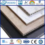 Marble-Texture Onebond de haute qualité en aluminium Panneau alvéolé