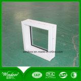 단단하게 한 5mm 유리에 의하여 구워지는 디자인 교차하는 미끄러지는 PVC Windows 문을%s 가진 프로젝트 PVC Windows 문