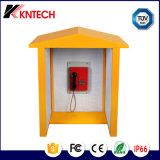 騒々しい領域および粗い環境のフードの電話ボックスRF-15