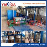Machine pour l'extraction et le raffinage de l'huile de soja à base de soja