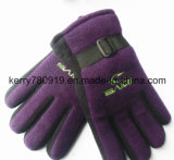2019 основных Анти--Pilling приполюсных перчаток ватки/теплой перчатка (DH-G089)