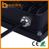 AC85-265V IP67 Resistente al agua de aluminio de 20W de iluminación exterior Reflector LED Lámpara de alta potencia