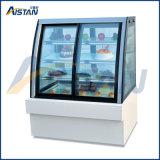 Cln1800 상업적인 디저트 진열장 케이크 전시 냉각기 또는 냉장고