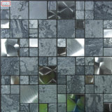 Mosaico di pietra Mixed di vetro di buon di prezzi colore dell'oro per la parete interna