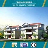 직업적인 디자인 강철 구조물 모듈 녹색 조립식 집