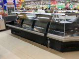 Xuzhou Usado Supermercado Carnicería Tienda Carne Mostrar Frigorífico