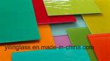 Стекло Tempered цвета декоративное с аттестацией Ce SGCC Csi