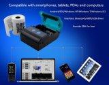 mini Bluetooth imprimante thermique tenue dans la main de réception de 58mm pour l'androïde
