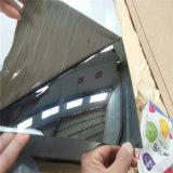 Edelstahl-Blatt 304 - 4FT x 8 FT, dekoratives Blatt des Spiegel-8k mit Laser-Film