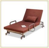 旅行折るベッドデザイン、金属の折るゲストのベッドの工場直接販売法