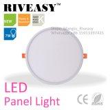 alta calidad fina redonda de la luz del panel de 7W LED