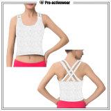Kleding van de Geschiktheid van het Mouwloos onderhemd van de Gymnastiek van de Training van de Vrouwen van de Sportkleding van de douane de In het groot
