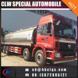 Tanque do caminhão do leite do caminhão de petroleiro do leite de Foton 8X4 28000L 30000L