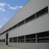 Fácil instalar a vertente da construção de aço do frame do espaço do edifício do metal, aço de Structual