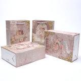 Bolsa de papel con la impresión exquisita del ángel
