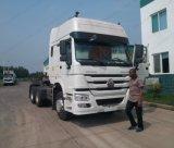 HOWO 371 중국 트랙터 가격 3 차축 트랙터 트럭